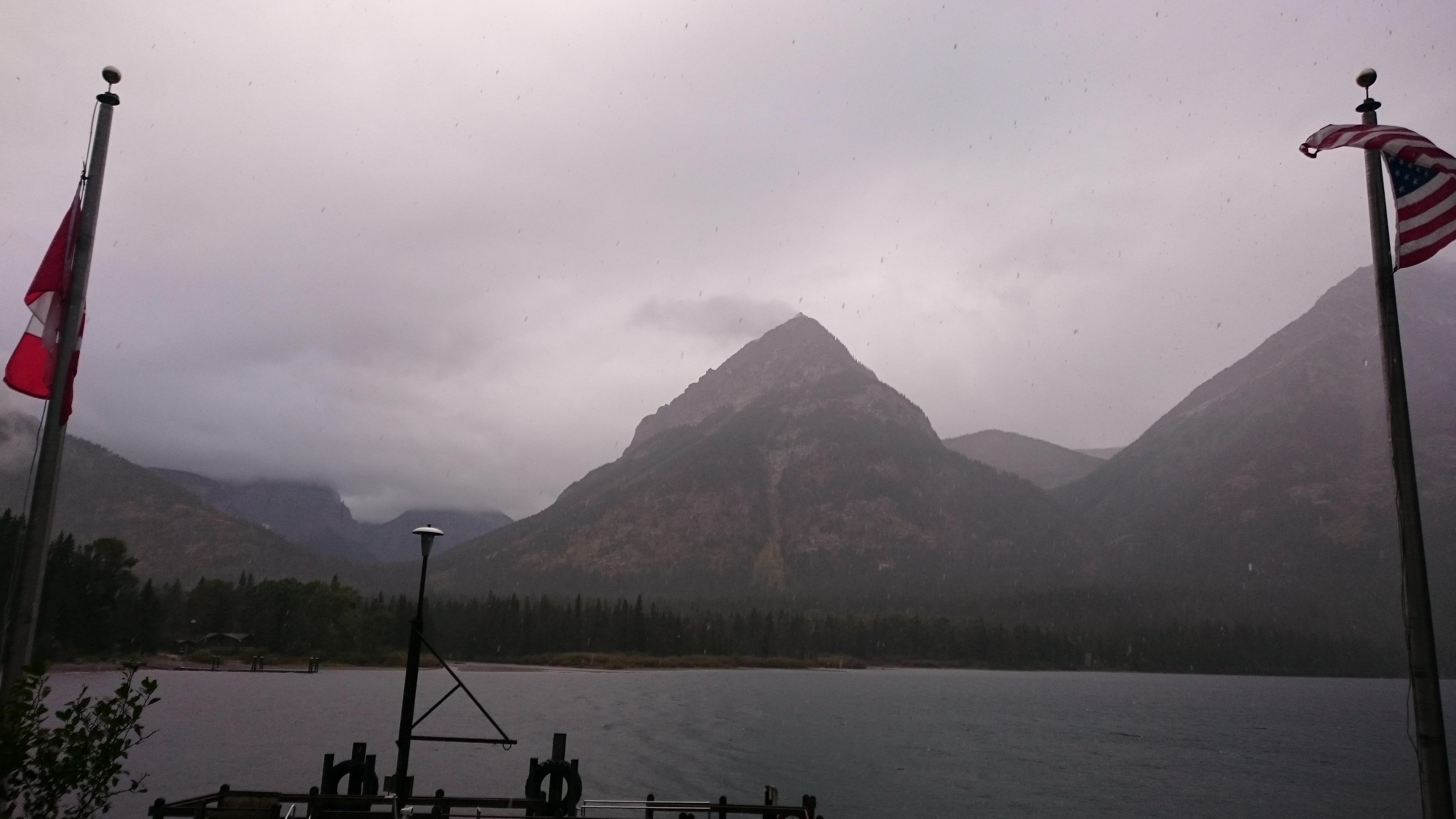 Etappe 119 glacier np 7 canada trail tales - Fenster isolieren gegen kalte ...